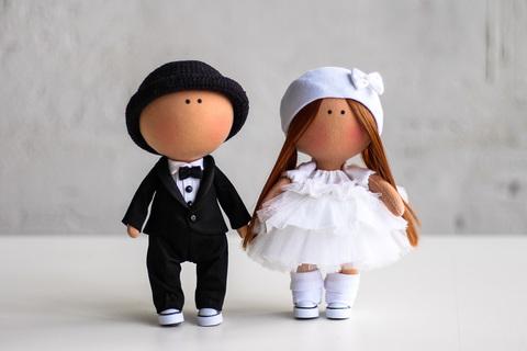 Весільна пара ляльок Кевін та Міранда. Колекція La Petite.
