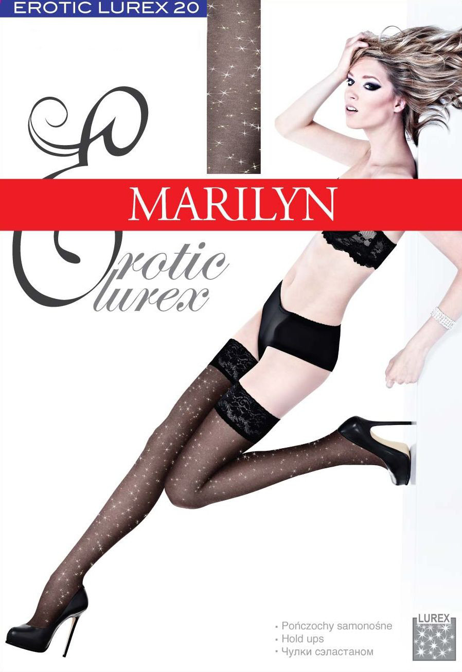 Чулки Marilyn Erotic Lurex