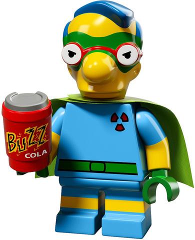 LEGO Minifigures: серия Симпсоны 2.0 71009 — The Simpsons Series 2 Minifigure — Лего Минифигурки