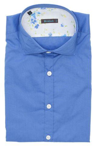 Тёмно-голубая рубашка