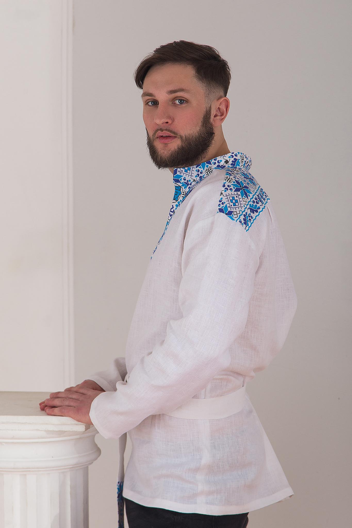 Русская рубаха Северная вид сбоку