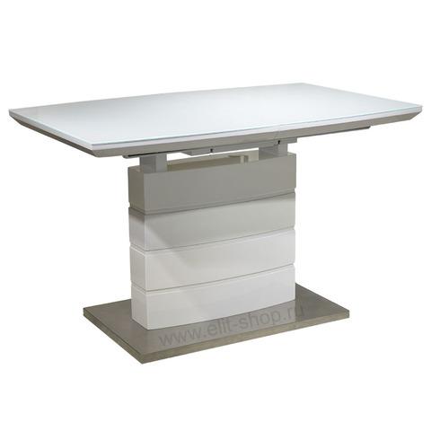 Стол DT211-1S Белый глянец / 120(160)х80см
