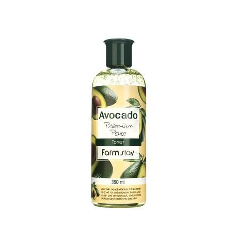 миниатюра тонера для лица с экстрактом авокадо FARM STAY Avocado Premium Pore Toner