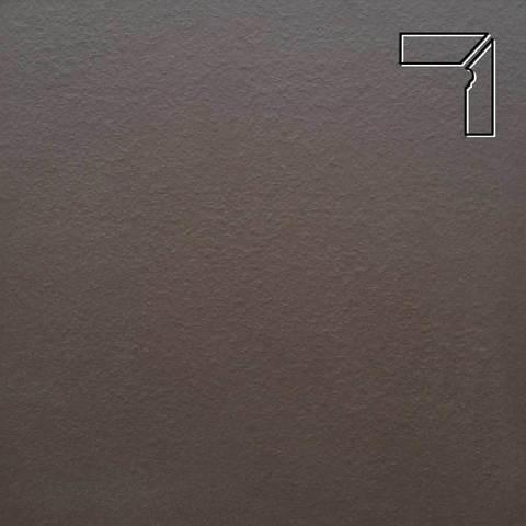 Ceramika Paradyz - Natural Brown Duro, 300x81x11, артикул 19 - Цоколь правый структурный 2-х элементный