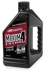 Масло моторное синтетика Maxima Maxum4 Extra 15W-50 4T 1 литр