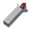 Нож Victorinox Cheese Knife, 111 мм, 6 функций, с фиксатором лезвия, красный