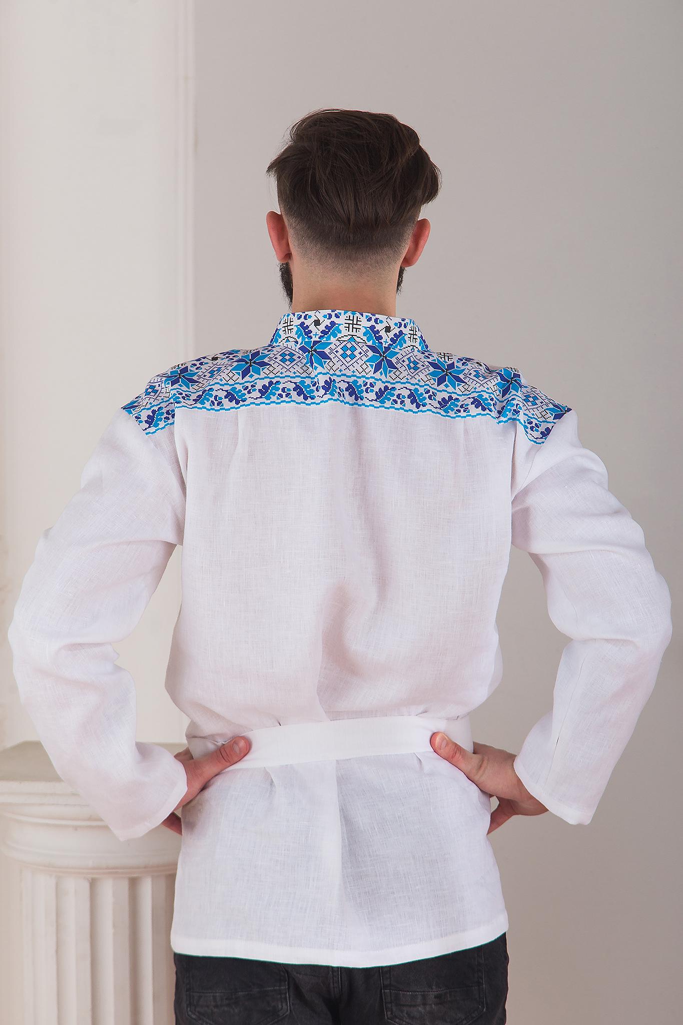 Русская рубаха Северная вид сзади