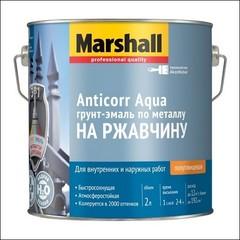 Грунт-эмаль на ржавчину Marshall ANTICORR AQUA BС (Прозрачный)