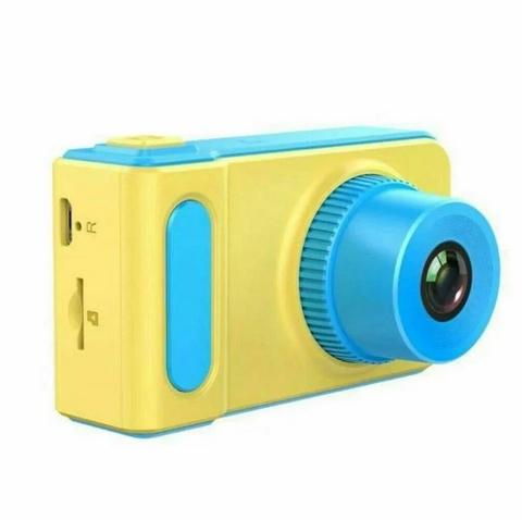 детский цифровой фотоаппарат summer vacation синий