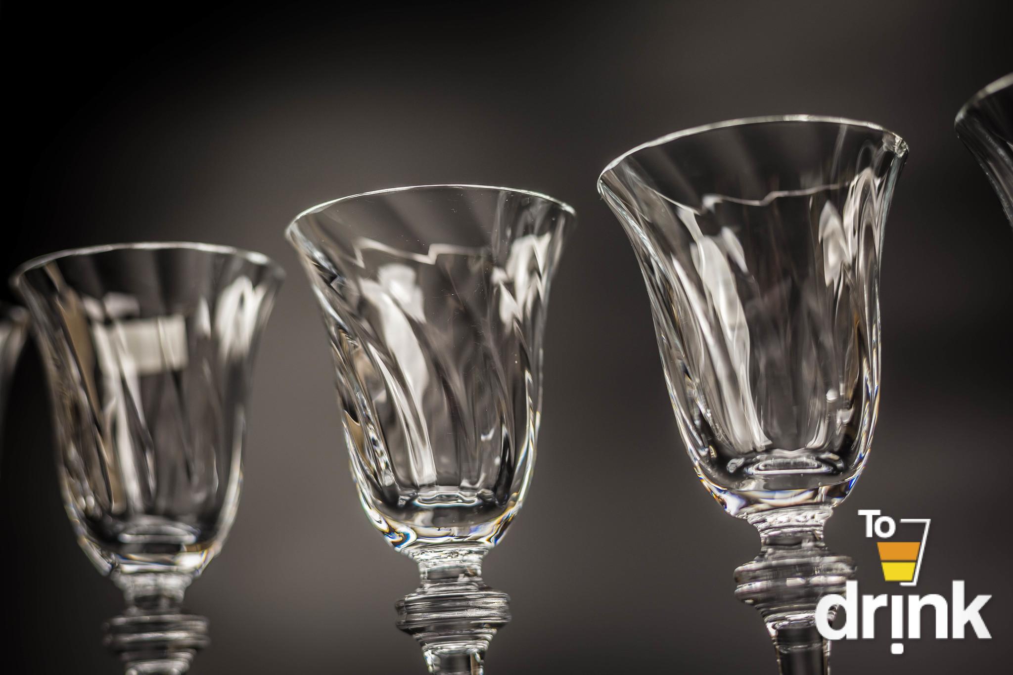 Набор рюмок для водки «Alexandra» 60 мл