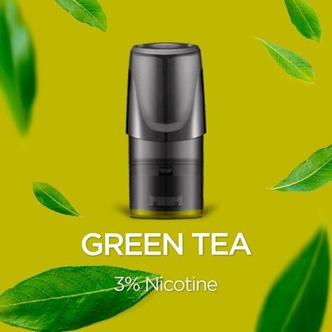 Сменный Картридж RELX 2ml Green Tea 3% (1шт)