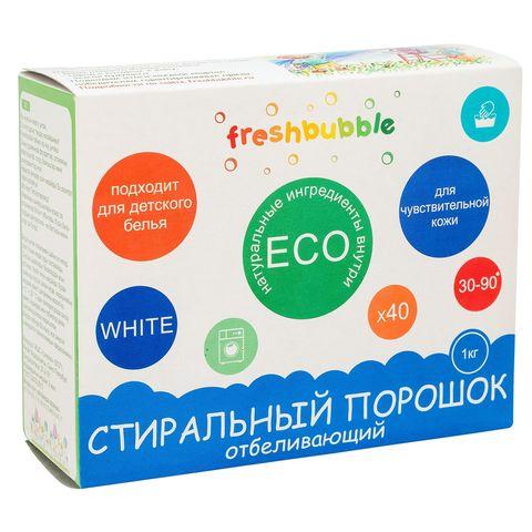 Levrana, Отбеливающий порошок для стирки белья freshbubble, 1000гр