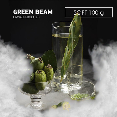Табак Dark Side 100 г SOFT Green Beam
