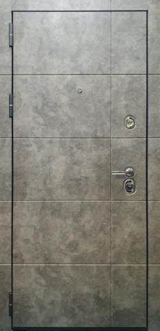 Входная дверь ACOUSTIC X (Бетон Лофт графит)