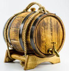 Дубовая бочка для алкоголя Премиум, 5 литров, фото 6