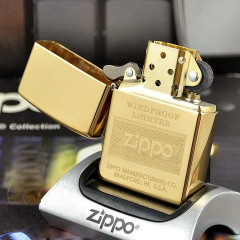 Зажигалка ZIPPO 28145 Windproof Золотая