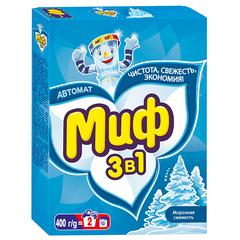 """Стиральный порошок """"Миф"""" автомат Морозная свежесть 400г"""