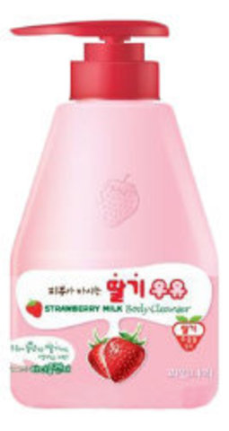 Welcos Kwailnara Гель для душа клубничный Kwailnara Strawberry Milk Body Cleanser 560гр