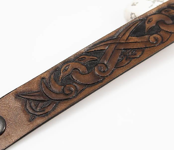 BL784 Мужской браслет с кельтскими узорами «Птицы» фото 03