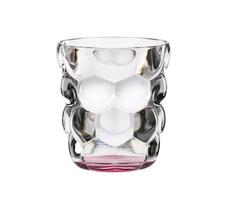 Набор из 2 стаканов для воды с розовым донышком Bubbles, 330 мл, фото 1