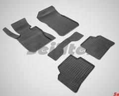 """Резиновые коврики """"Сетка"""" для BMW 3 E-90 (2005-2013)"""
