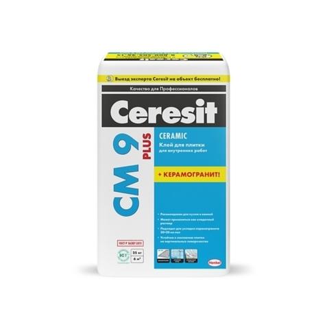 Ceresit CM9 PLUS/Церезит ЦМ9 Плюс клей для плитки и керамогранита