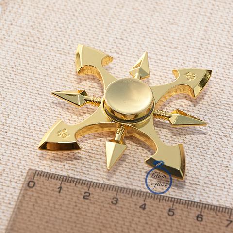 Спиннер из латуни восьмилучевой 17004L