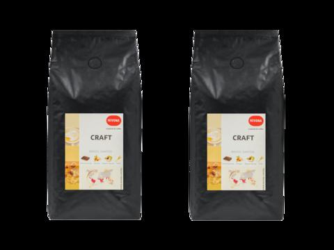 Кофе в зернах Nivona CRAFT, арабика, 1000 г 2 штуки