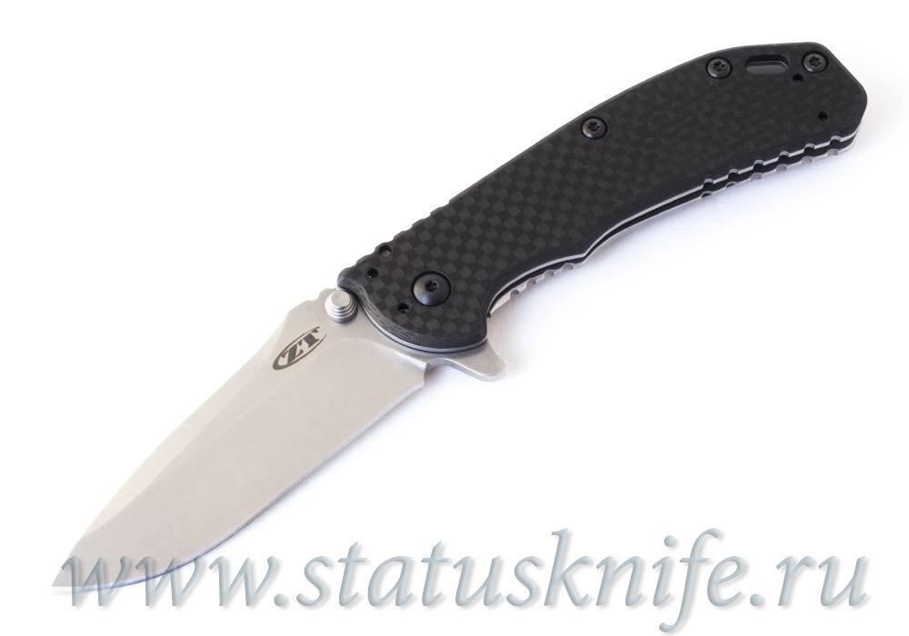 Нож ZERO TOLERANCE 0566 ZT0566CF Elmax Карбон