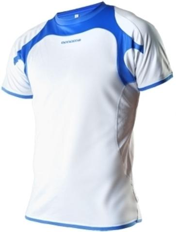 Футболка беговая Noname Running 2012 white-blue