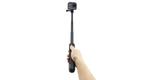 Телескопический монопод-штатив GoPro MAX Grip Tripod (ASBHM-002) в руке с камерой
