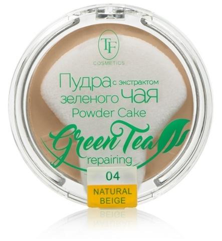 ТФ Пудра компактная для лица с экстрактом зеленого чая тон 04  ТР-16