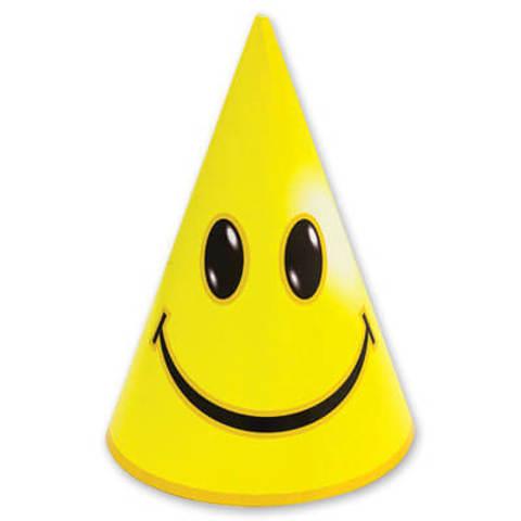 Колпак Улыбка желтый ( 8 штук)