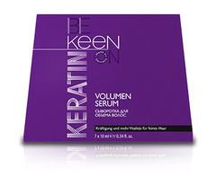 KEEN кератиновая сыворотка для объема волос keratin volumen serum 7 x 10мл