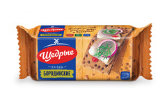 Хлебцы Щедрые бородинские 100г