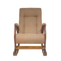 Кресло-качалка Комфорт Модель 44 орех/Malta 17, 013.044