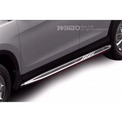 Боковые пороги OE-STYLE, Volkswagen TIguan (2011-2016)