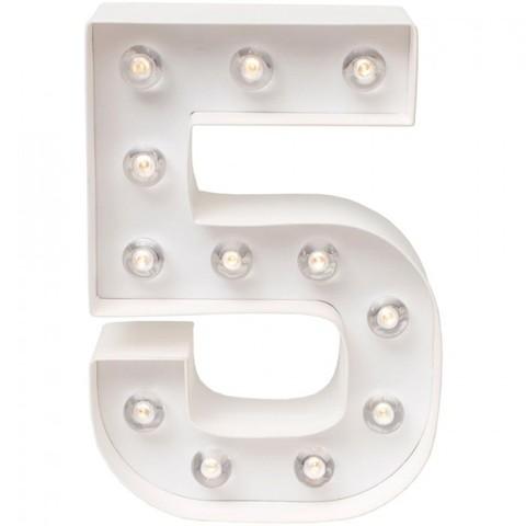 Светильник- декоративная цифра от Heidi Swapp