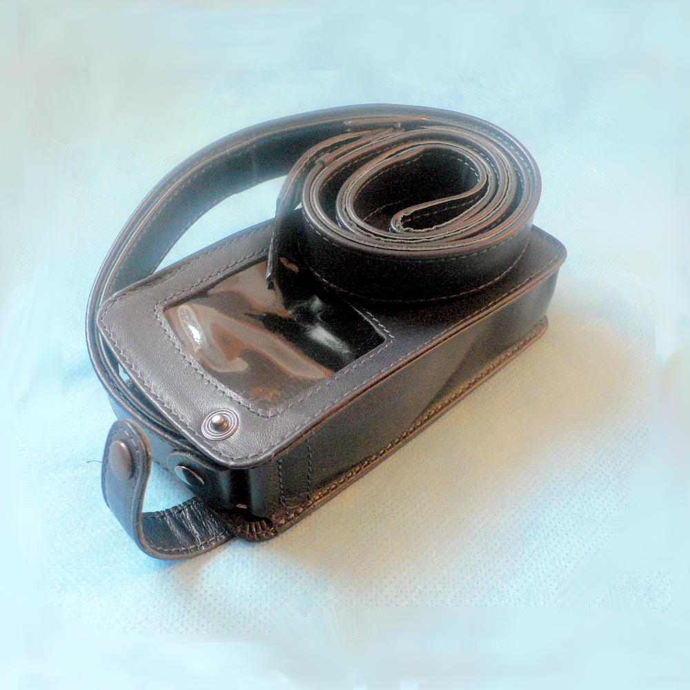 Чехол для мониторов КТ-04-3РМ, КТ-04-АД-3 и КТ-04-АД-3М, кожанный с ремнем