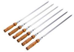 Шампуры с деревянной ручкой