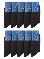 28-1 носки мужские, темно-серые (10шт)