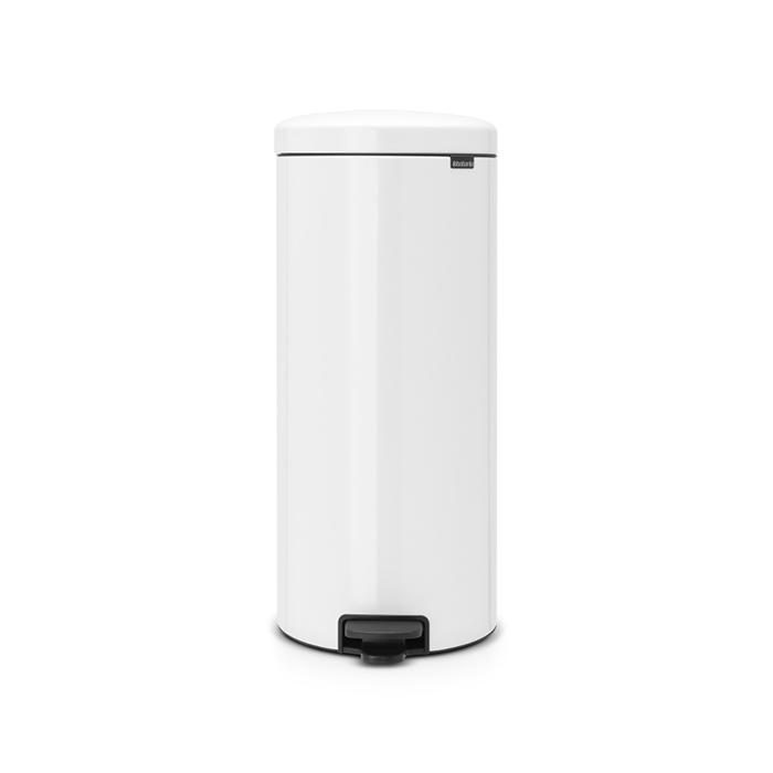 Мусорный бак newicon (30 л), Белый, арт. 111785 - фото 1