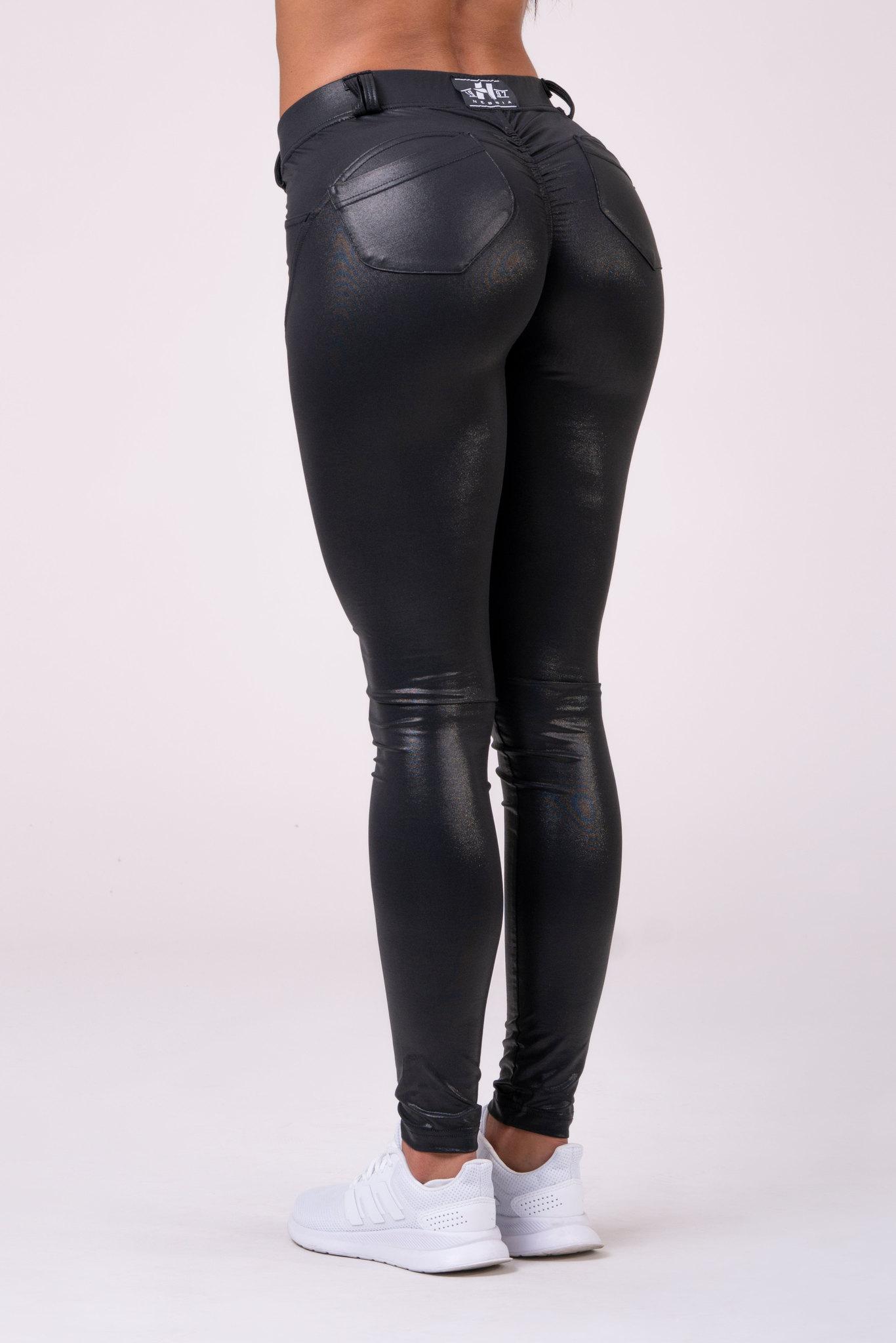 Брюки NEBBIA Bubble Butt pants 539 Black Widow