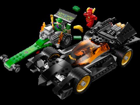 LEGO Super Heroes: Бэтмен: Погоня за Загадочником 76012 — Batman: The Riddler Chase — Лего Супергерои Marvel Марвел DC Comics комиксы