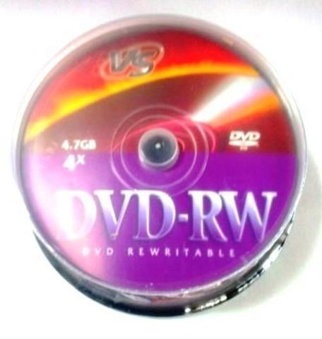 Диск VS DVD-RW 4,7 GB 4x CB/10
