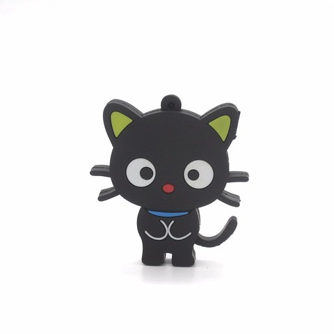 USB-флешка Кот черный