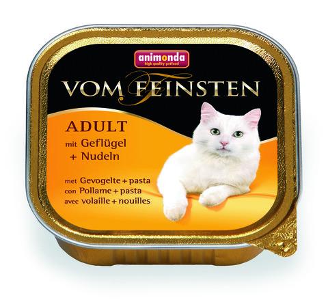 Консервы Animonda Vom Feinsten Adult с мясом домашней птицы и пастой для взрослых кошек