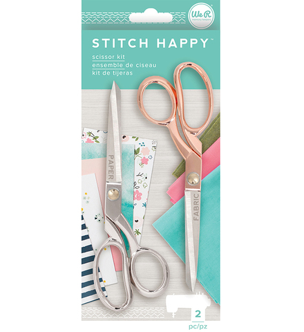 Ножницы- We R Stitch Happy Scissors 2 пары