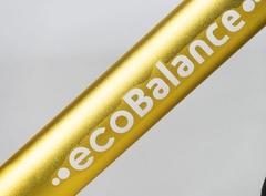 Беговел EcoBalance NEXT, сверхлегкий, 1,9 кг, золотой рама