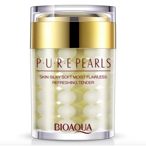 Увлажняющий крем с натуральной жемчужной пудрой Pure Pearls, 60гр